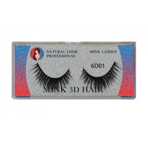 Natural Look Professional 6d Mink Eyelashes 6d01