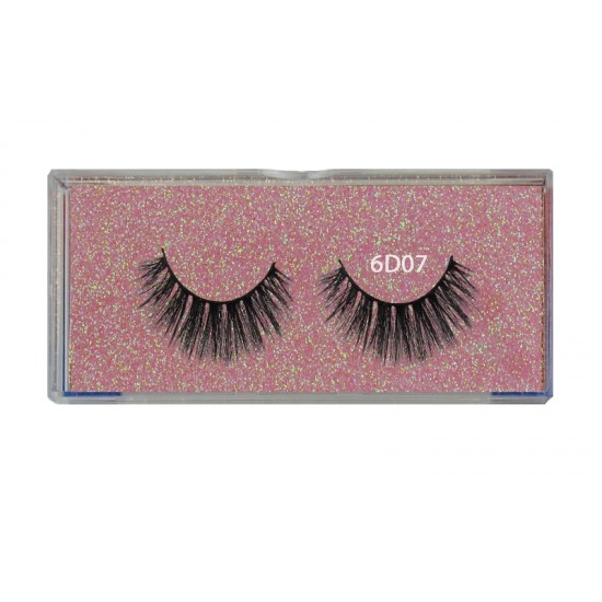 Natural Look Professional 6d Mink Eyelashes 6d07