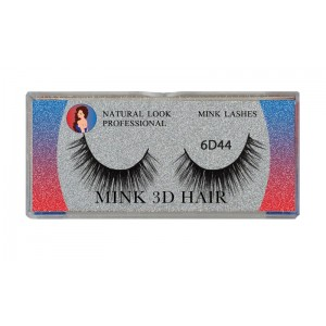 Natural Look Professional 6d Mink Eyelashes 6d44