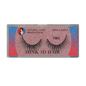 Natural Look Professional 3d Mink Eyelashes Tw03