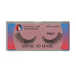 Natural Look Professional 3d Mink Eyelashes Tw07