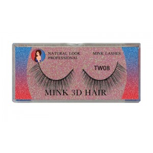 Natural Look Professional 3d Mink Eyelashes Tw08