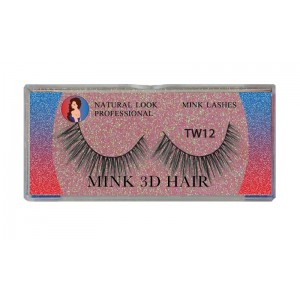 Natural Look Professional 3d Mink Eyelashes Tw12