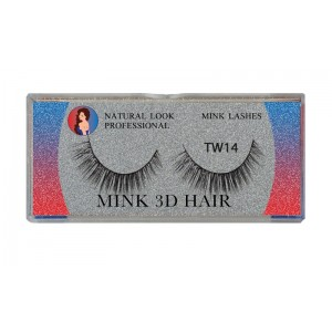 Natural Look Professional 3d Mink Eyelashes Tw14