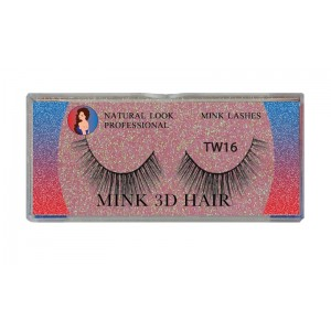 Natural Look Professional 3d Mink Eyelashes Tw16