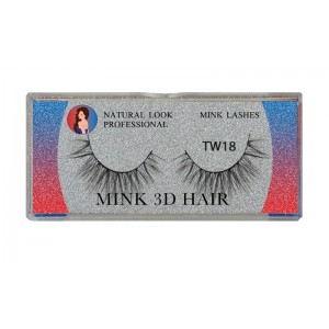 Natural Look Professional 3d Mink Eyelashes Tw18