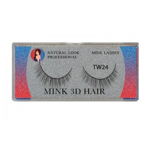 Natural Look Professional 3d Mink Eyelashes Tw24