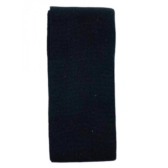 Ebo Elastic Wig Band 1-3/4 1 Yd Large Black