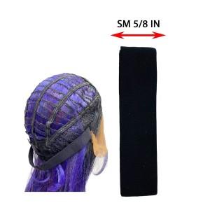 Ebo Elastic Wig Band 5/8 1 Yd Sm Black