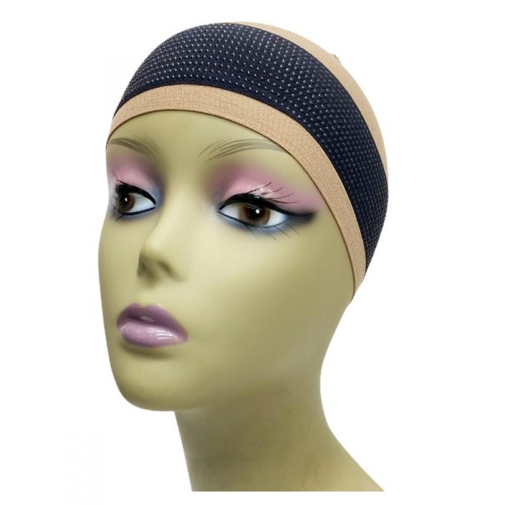 Ebo Silicone Elastic Wig Grip Band Non Slip Black
