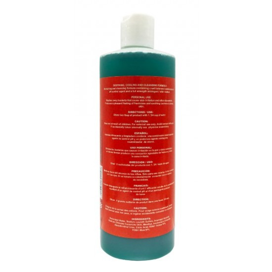 Akaona Feminine Wash Hypoallergenic Refreshing Cleansing Solution 16 Oz