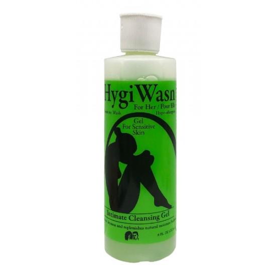 Hygi Wash Feminine Wash Gel For Sensitive Skin Intimate Cleansing Solution 8 Oz