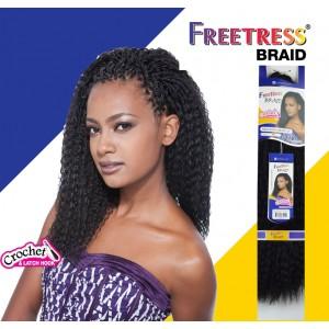"FREETRESS SYNTHETIC HAIR CROCHET BRAIDS BRAZILIAN BRAID  20"""
