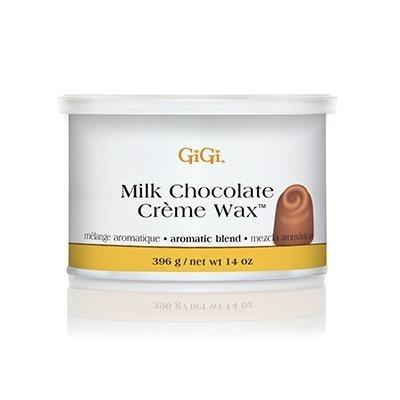 gigi milk chocolate crème wax aromatic blend