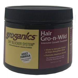 Groganics Hair Gro N Wild 6 Oz