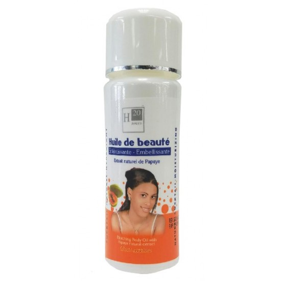 H20 Jours Bleaching Body Oil With Papaya Natural Extract 125 M