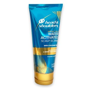 Head & Shoulders Water Activated Scalp Scrub With Coconut Oil 3.4 Oz