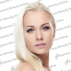"18"" clip in - 9pcs 100% human hair extensions - pure blonde (613)"