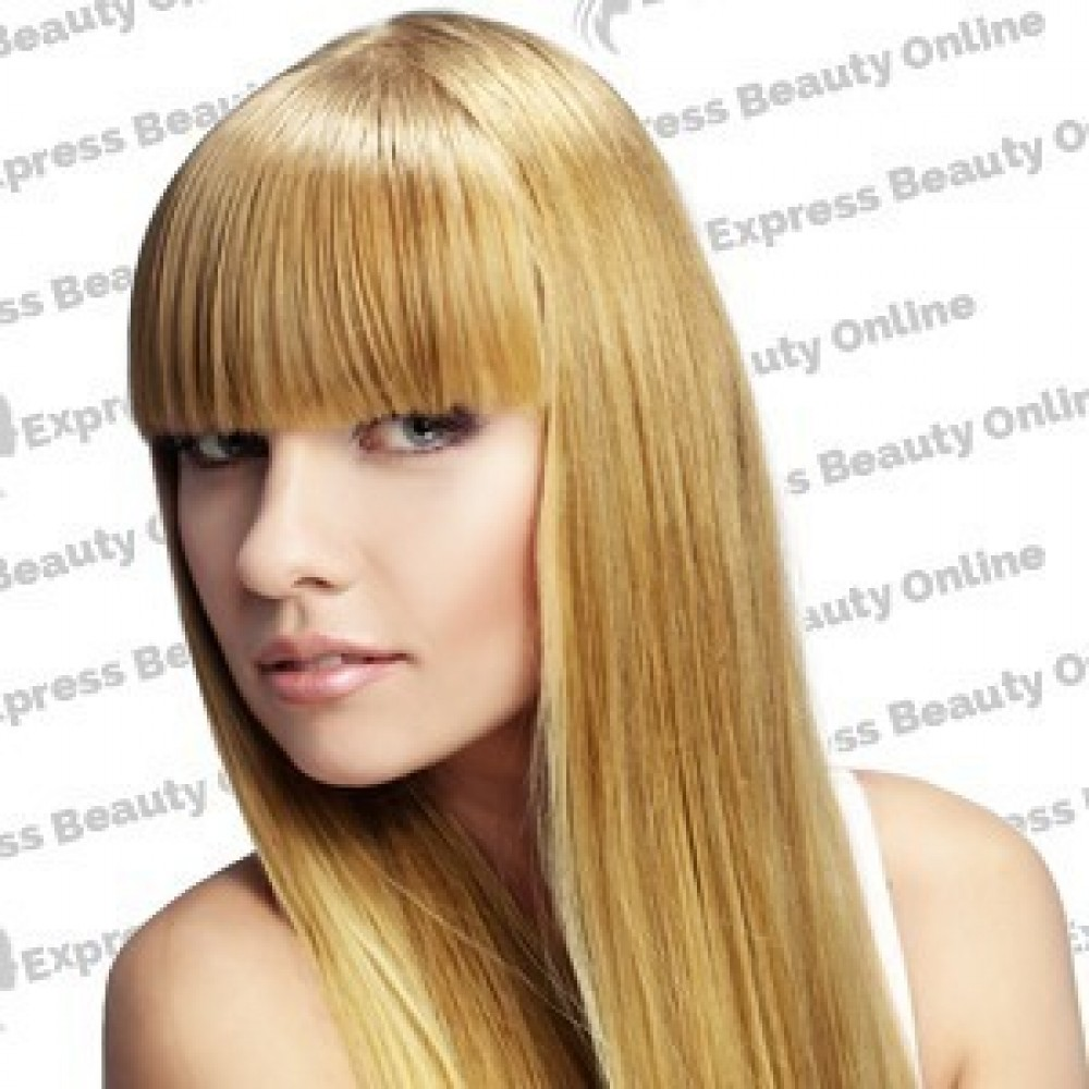 14 clip in - 10pcs 100%  human hair extensions - straight-pure blonde/honey (613/27)