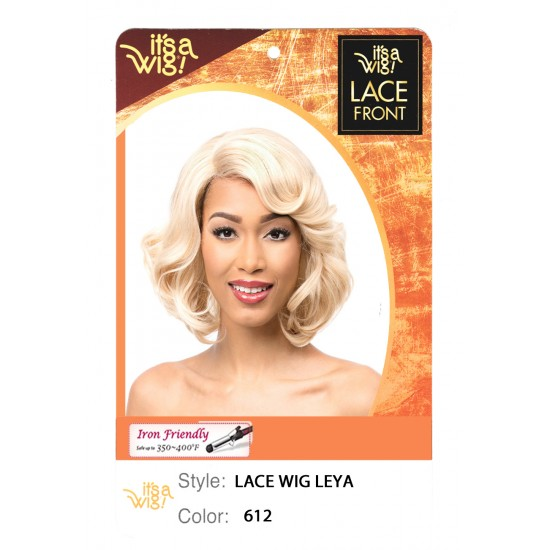 Its A Wig Synthetic Lace Front Wig L Part  Leya
