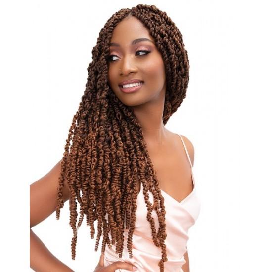 Janet Collection Synthetic Hair Crochet Braid Loop Nomadik Twist Braid 20