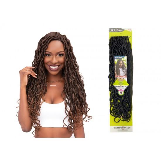 Janet Collection Synthetic Hair Crochet Braid Loop Mermaid Locs 20
