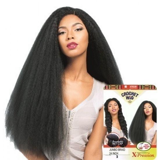 Sensationnel African Collection  Crochet  Synthetic Wig Jumbo Baid 24