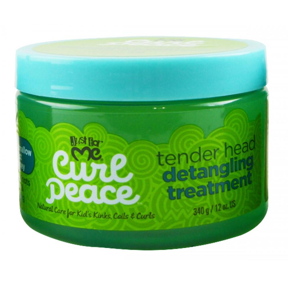 Just For Me Curl Peace Tender Head Detangling Treatment 12 Oz
