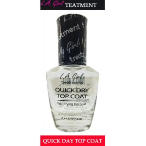 L A Girl Treatment Nails Quick Dry Top Coat Gnt7