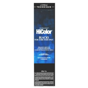 Loreal Technique Excellence Hicolor Black  For Dark Hair Color H22 Black Sapphire 1.74 Oz
