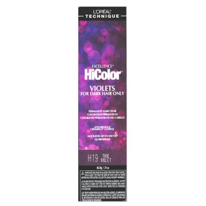 Loreal Technique Excellence Hicolor Violets For Dark Hair Color H20 Red Violet 1.74 Oz