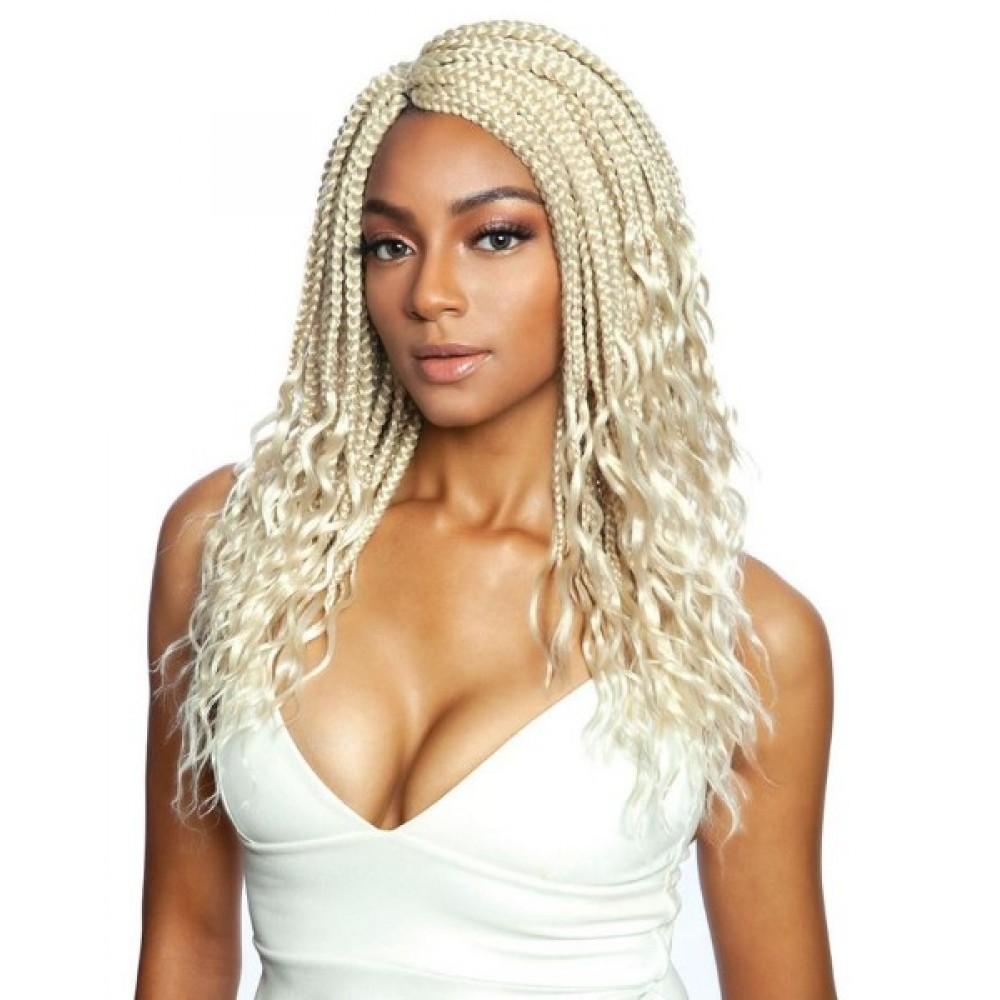 Mane Concept Afri Synthetic Hair Crochet Braid Loop 3x Box Braid Wavy End Kritz 14