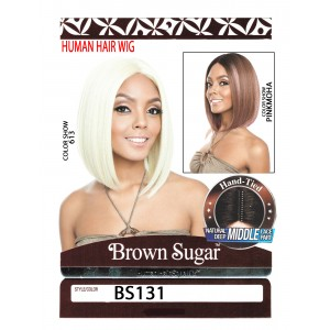 Mane Concept Brown Sugar Human Hair Stylemix Full Wig Bs131
