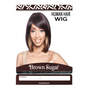 Brown Sugar Human Hair Stylemix Full Wig Bs105