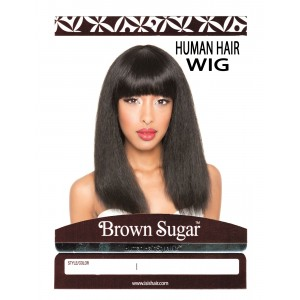 Brown Sugar Human Hair Stylemix Full Wig Bs109