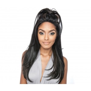 Brown Sugar Frontal Lace Human Hair Stylemix Lace Front Wig Bsf01