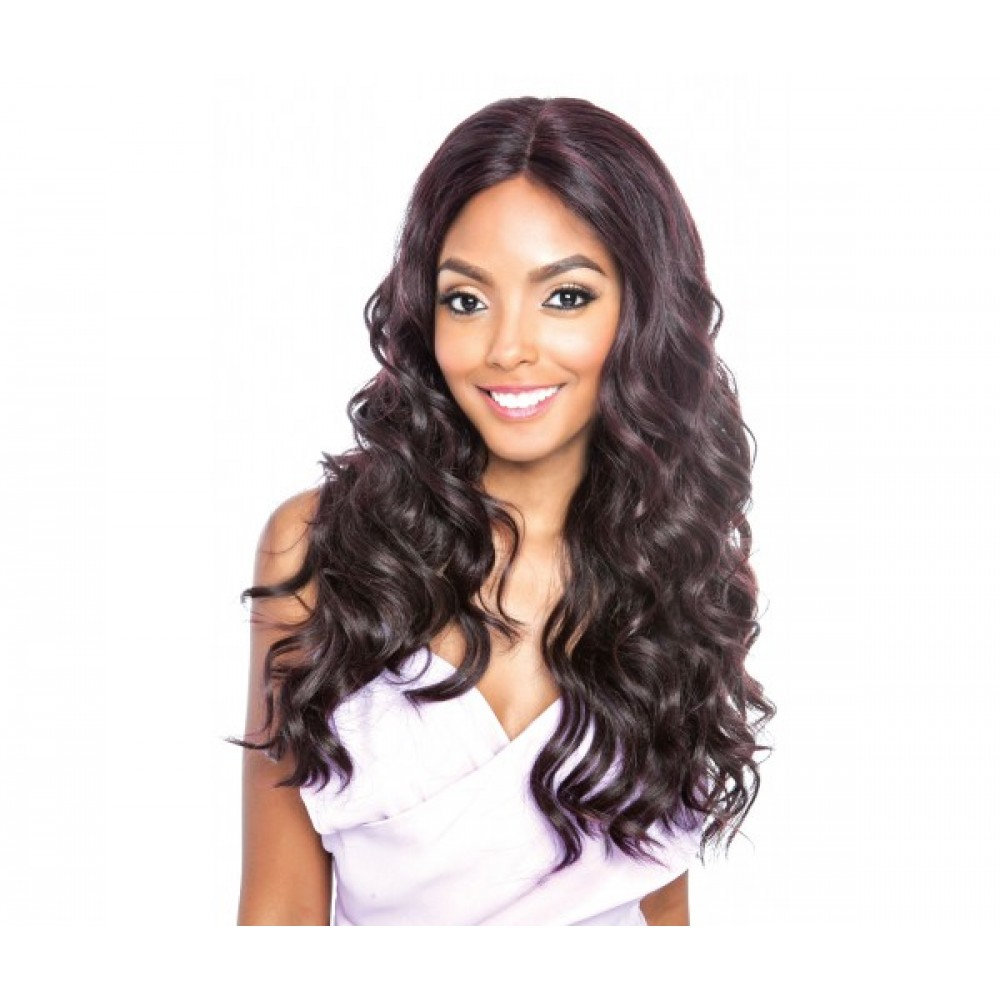 Brown Sugar Frontal Lace Human Hair Stylemix Lace Front Wig Bsf03