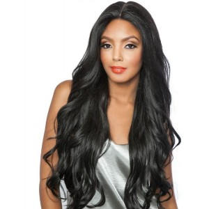 Mane Concept Brown Sugar Versatile Lace Human Hair Stylemix Lace Front Wig Bsx02 Loose Wave 28