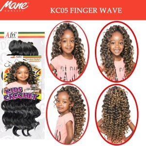 Mane Concept Afri Synthetic Hair Crochet Braid Kc05 Finger Wave