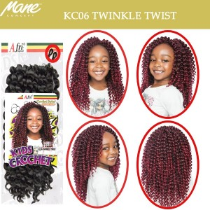 Mane Concept Afri Synthetic Hair Crochet Braid Kc06 Twinkle Twist