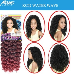 Mane Concept Afri Synthetic Hair Crochet Braid Kc02 Water Wave