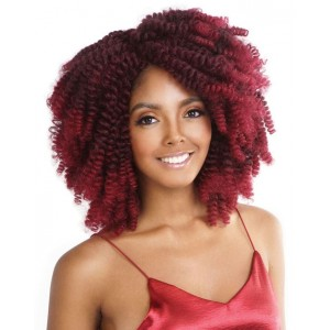 Mane Concept Afri Synthetic Hair Crochet Braid Loop Quick Curlon Allie Curl 20""