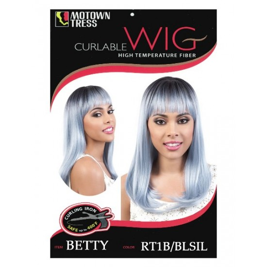 Motown Tress Synthetic Full Wig Betty