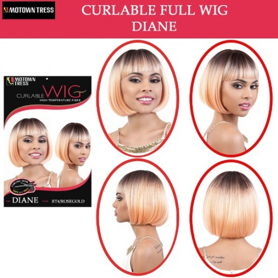 Motown Tress Synthetic Full Wig Diane