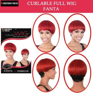 Motown Tress Synthetic Full Wig Fanta