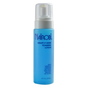 Nairobi Wrapp It Shine Foaming Lotion 8 Oz