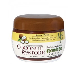 Nature's Protein Coconut Restore Coconut Oil 7 Oz