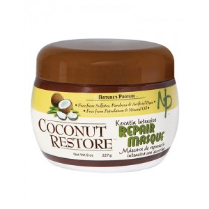 Nature's Protein Coconut Restore Repair Masque 8 Oz