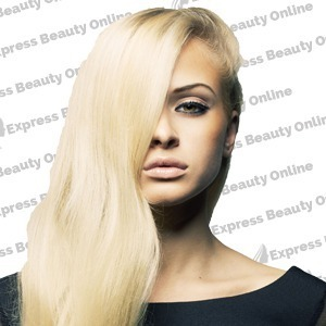 "18"" fusion -u tip- 100pcs 100% human hair extensions - pure blonde (613) - wavy"
