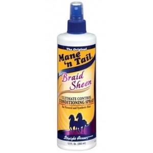 mane n tail braid sheen spray